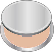Cosmetics Compact Powder